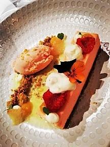 Dessert au restaurant Pure