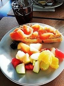 Mon assiette au petit déjeuner