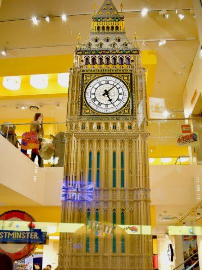 Big Ben au Légo Store