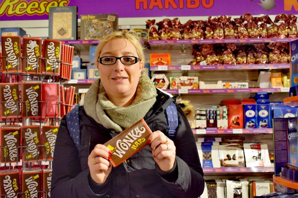 Tablette Wonka chez Kingdom of Sweets