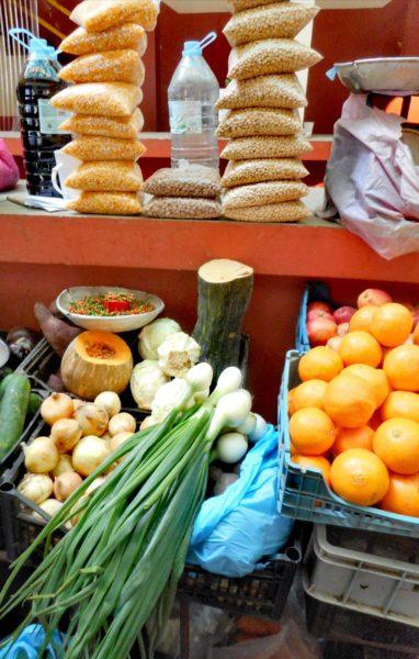 Marché aux fruits et légumes