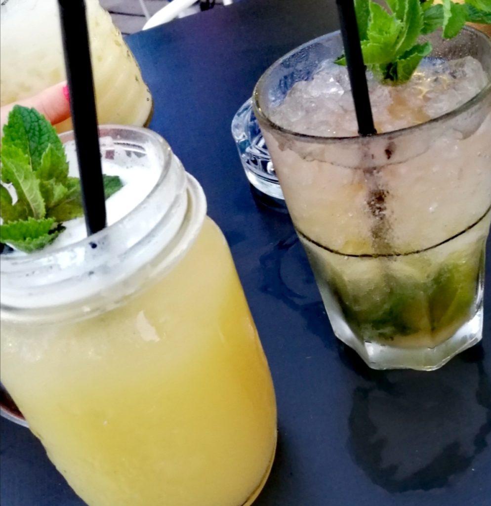 Les cocktails du Canopy