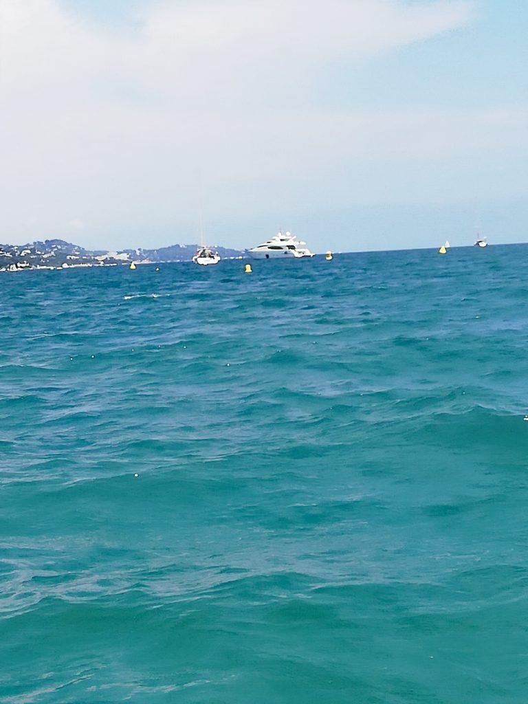 Vue sur mer en mer