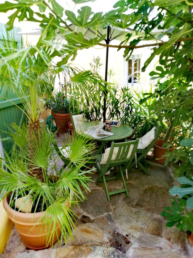 Jardinet en terrasse