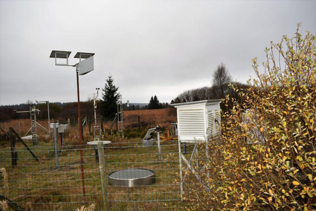 La station météo du Signal de Botrange