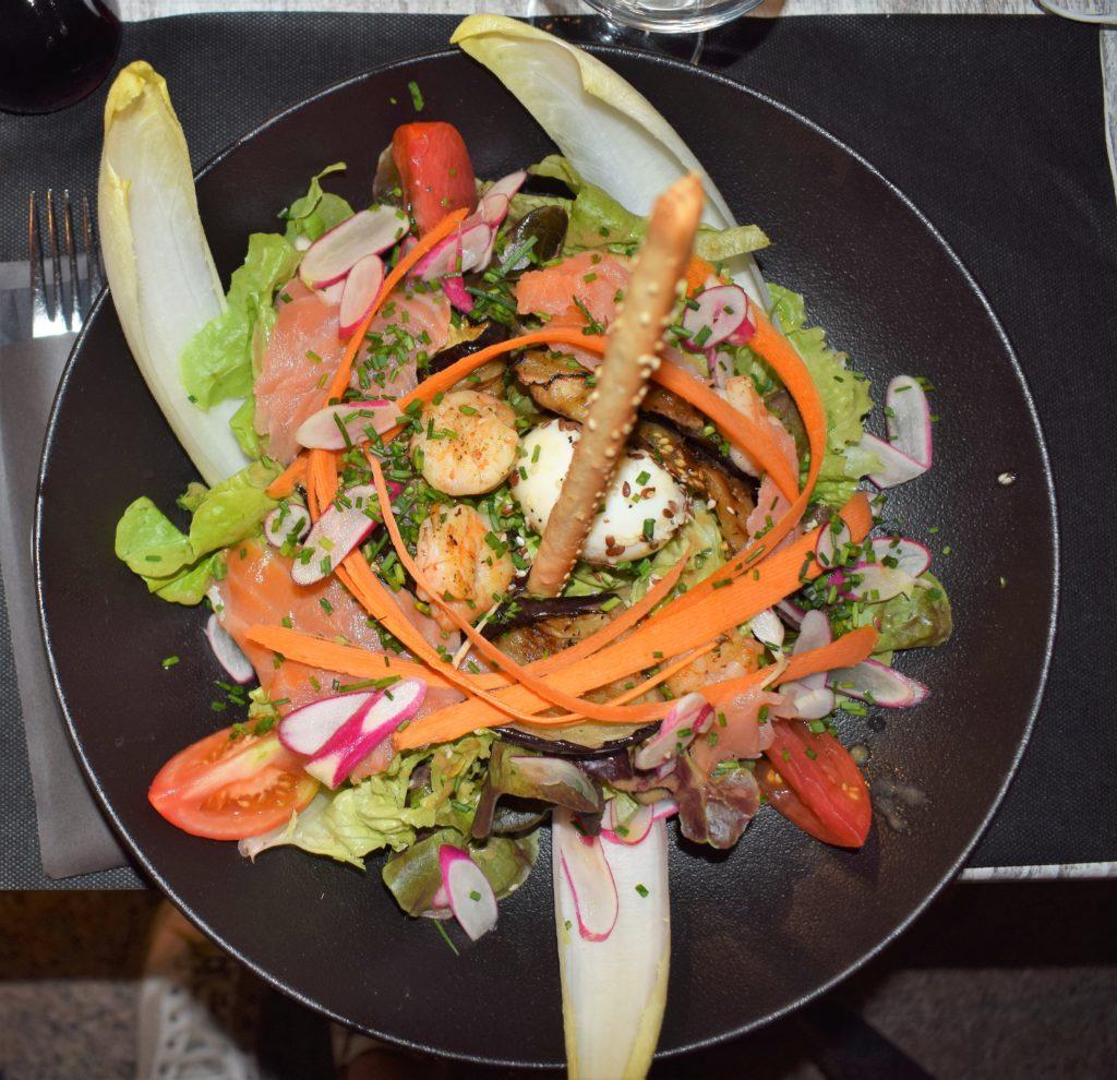 La salade Café des allées