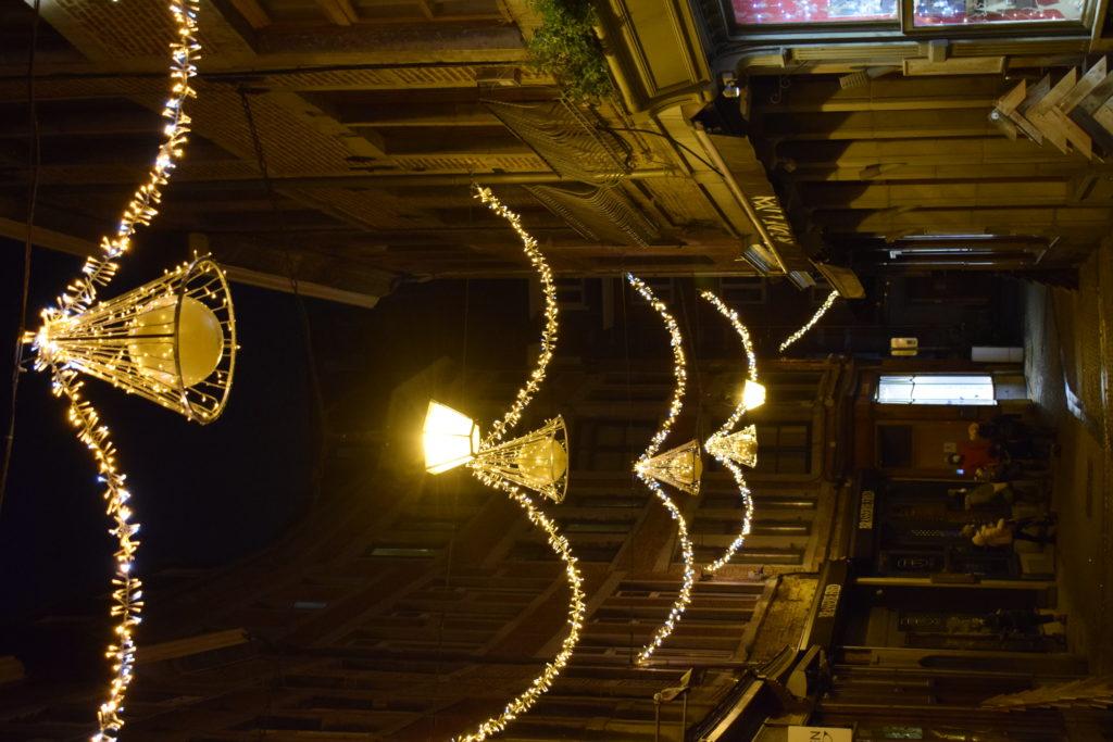 Les décos de Noël dans la ville