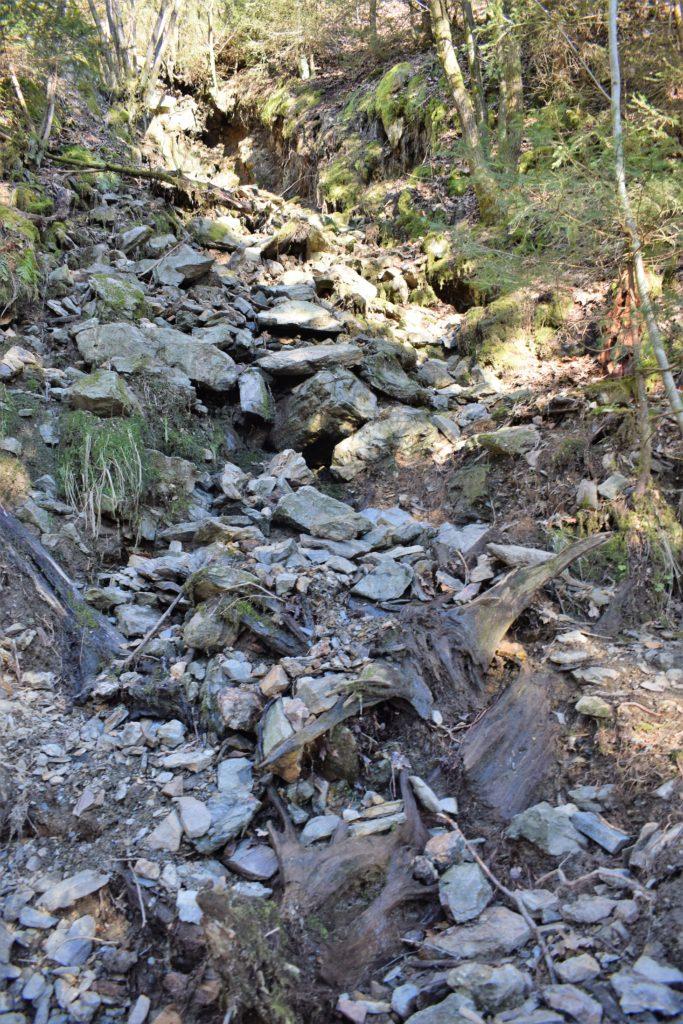 Vers le Canyon du Trôs Maret