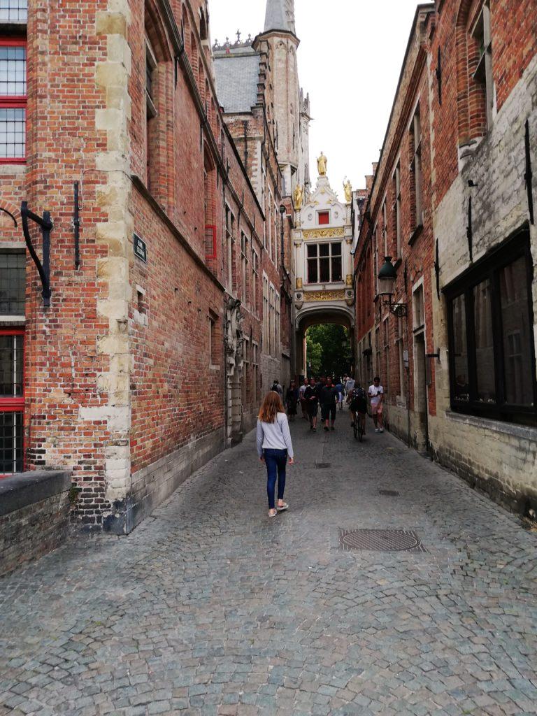 Les rues de Bruges