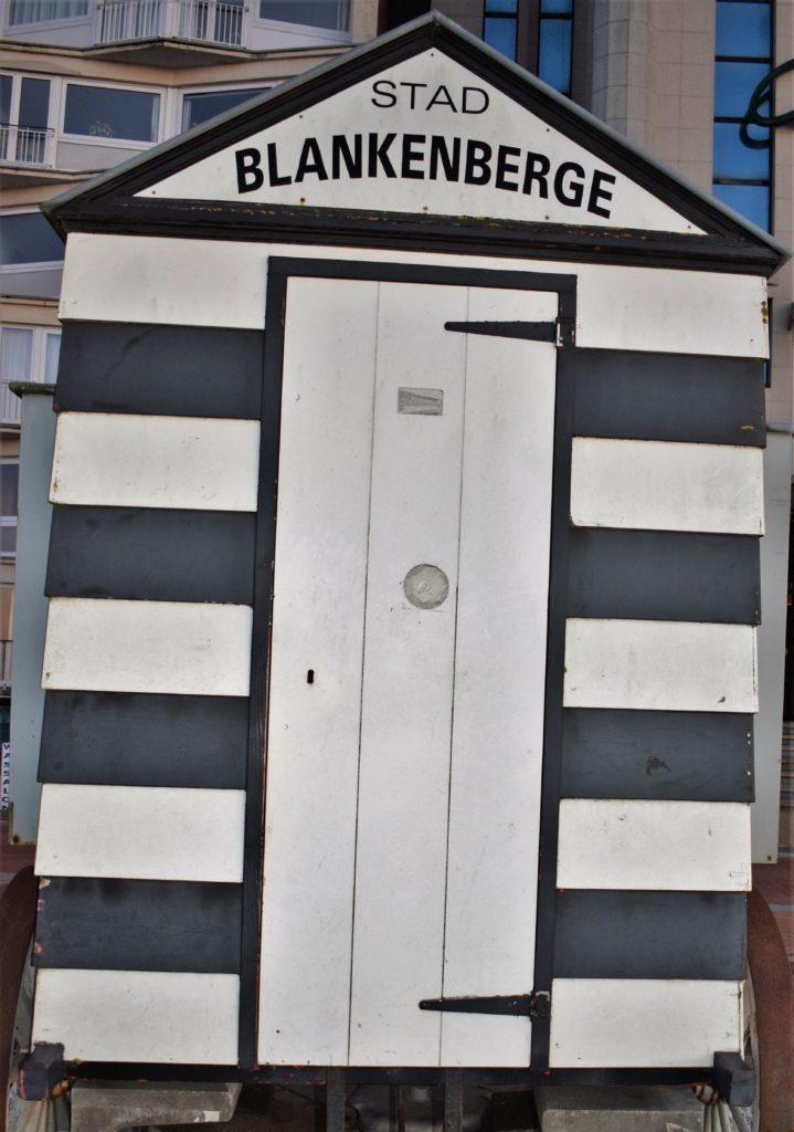 Les cabines de Blankenberge