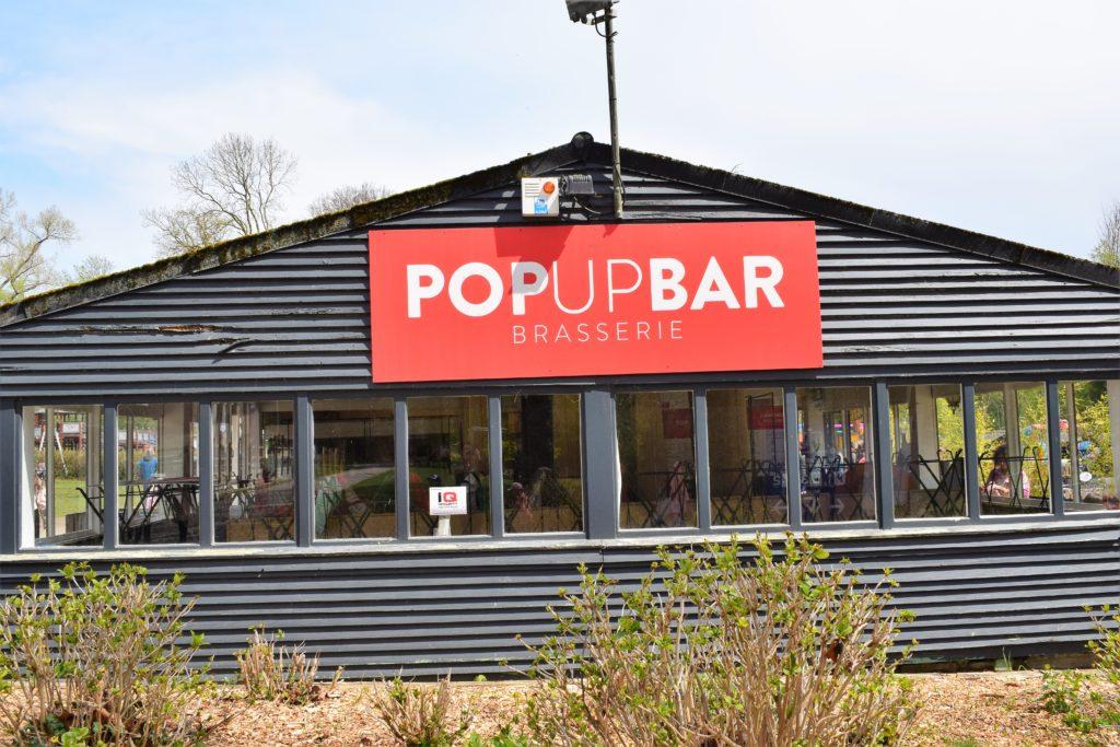 Le pop up bar
