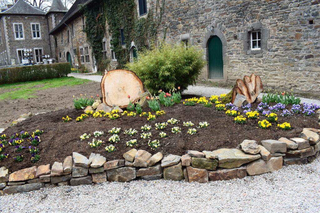 Les jardins de l'Abbaye du Val Dieu