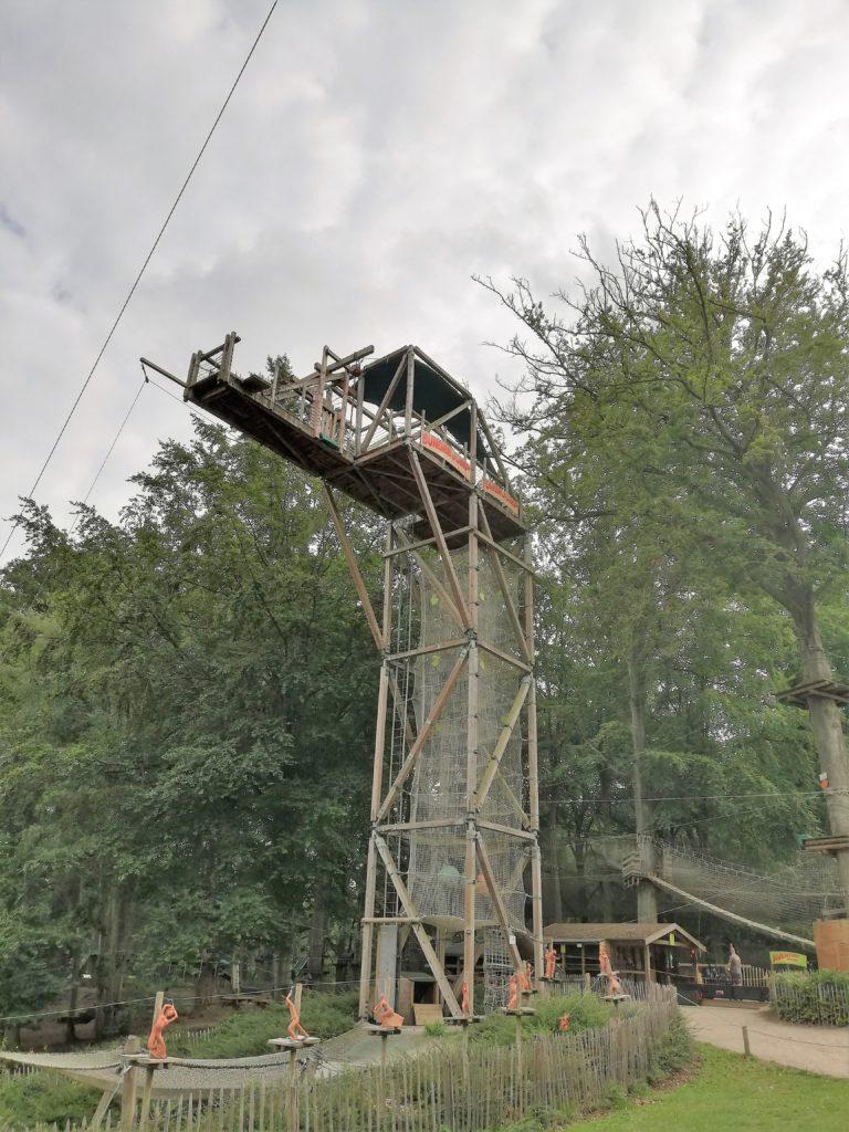 La tour de saut