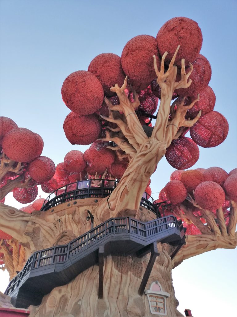 Le grand arbre de Prezzemoland